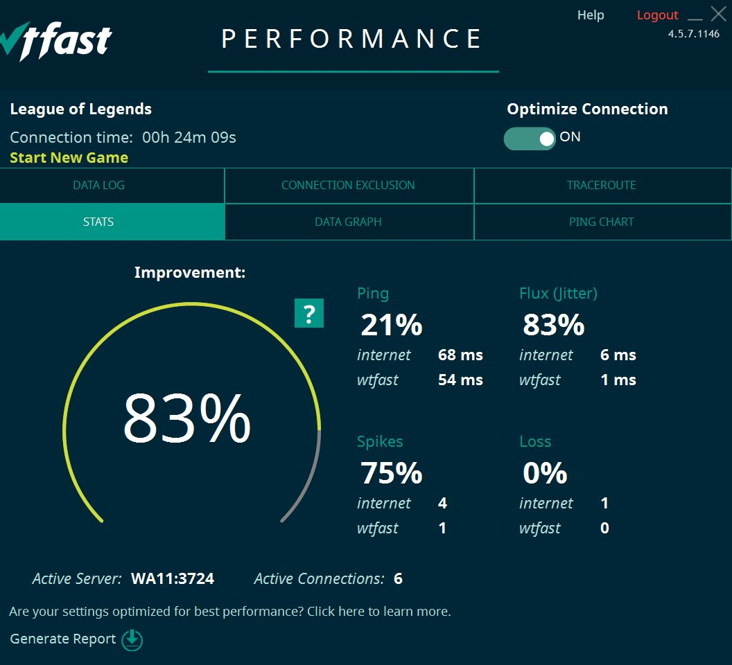 WTFast: Advanced Version - 180 Days Activation Key | Buy cheap on ...