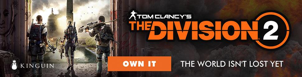 Kinguin Tom Clancy's The Division 2 - 970x250