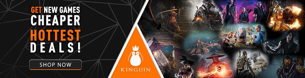 Kinguin Hottest Deals 970x250