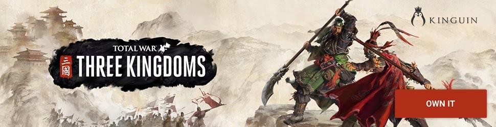 Kinguin Total War: Three Kingdoms - 970x250