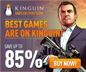 Best Games Are on Kinguin 300x250