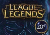 League of Legends LOL 20 EUR Gamecard RP Card DE