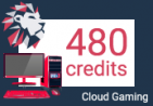 Loudplay Cloud Gaming Computer - 480 Credits