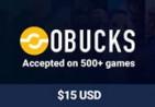 OBUCKS® Card USD $15