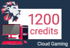 Loudplay Cloud Gaming Computer - 1200 Credits