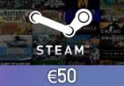 Steam Wallet Card €50 EU Activation Code
