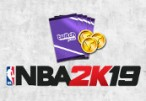 NBA 2K19 - 25,000 VC + 5 MyTEAM Packs Digital CD Key