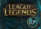 League of Legends 10 EUR Prepaid RP Card EU