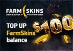Farmskins $100 Wallet Card