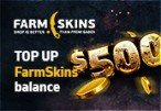Farmskins $500 Wallet Card