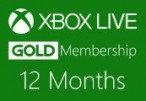 XBOX Live 12-month Gold Subscription Card BR