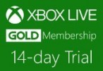 XBOX Live 14-day Gold Trial Membership