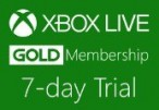 XBOX Live 7-day Gold Trial Membership EU