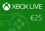 XBOX Live €25 Prepaid Card EU