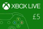 XBOX Live £5 Prepaid Card UK