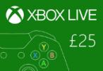 XBOX Live £25 Prepaid Card UK