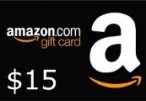 Amazon $15 Gift Card US