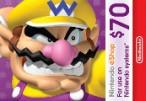 Nintendo eShop Prepaid Card $70 US Key