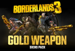 Borderlands 3 - Gold Weapon Skins Pack DLC Epic Games CD Key