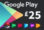 Google Play £25 UK Gift Card