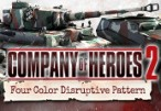 Company of Heroes 2 - German Skin: Four Color Disruptive Pattern Bundle Steam CD Key