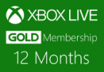 XBOX Live 12-month Gold Subscription Card
