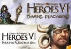 Might & Magic: Heroes VI - Danse Macabre + Pirates of Savage Sea DLC Clé Uplay