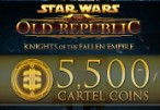 Star Wars: The Old Republic - 5500 Cartel Coins Origin CD Key