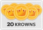 20 KRS Krowns Voucher