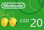 Nintendo eShop Prepaid Card $20 CA Key