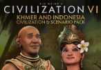 Sid Meier's Civilization VI - Khmer and Indonesia Civilization & Scenario Pack DLC Clé Steam