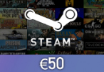 Steam Wallet Card €50 Global Activation Code