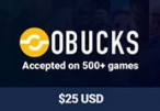 OBUCKS® Card USD $25