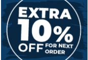 10% OFF Storewide Code - One per account!