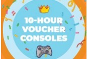 Voucher for 10 hours to play on Consoles for two players