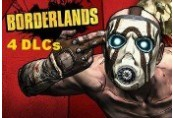 Borderlands - 4 DLCs Pack Steam CD Key