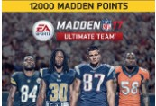 Madden NFL 17 - 12000 Ultimate Team Points XBOX One CD Key