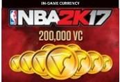 NBA 2K17 - 200,000 Virtual Currency XBOX One CD Key