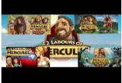 12 Labours of Hercules I-V Bundle Steam CD Key