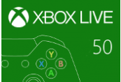 XBOX Live 50 BRL Prepaid Card BR