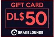 Drakelounge Giftcard DL$ 50