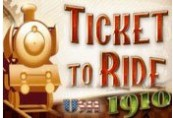 Ticket to Ride + 1910 USA DLC Steam CD Key