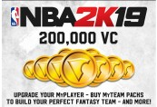 NBA 2K19 - 200,000 VC Pack US PS4 CD Key