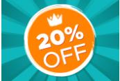 20% OFF Storewide Code