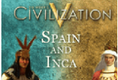 Sid Meier's Civilization V - Spain and Inca Double Civilization Pack DLC Steam Gift