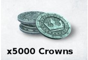 The Elder Scrolls Online x5000 Crown Pack Manual Delivery