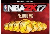 NBA 2K17 - 75,000 Virtual Currency XBOX One CD Key