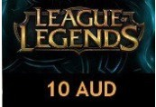 League of Legends 10 AUD Prepaid RP Card OCE