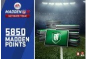 Madden 18 - 5850 Ultimate Team Points XBOX One CD Key