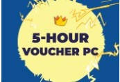 Voucher for 5 hours to play on PC (extreme zone)